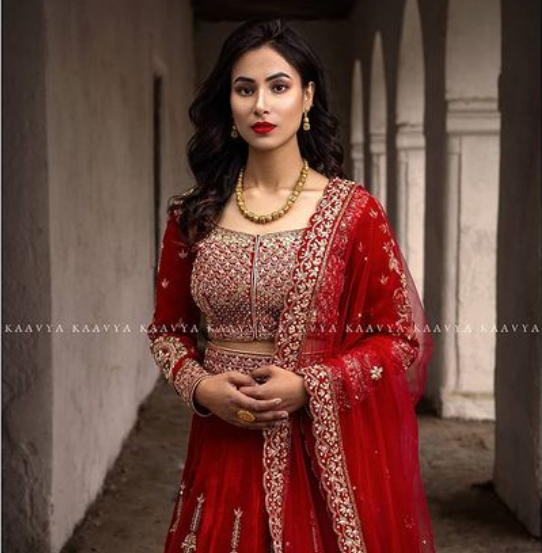 visit kaayva boutique for trendy bridal wears