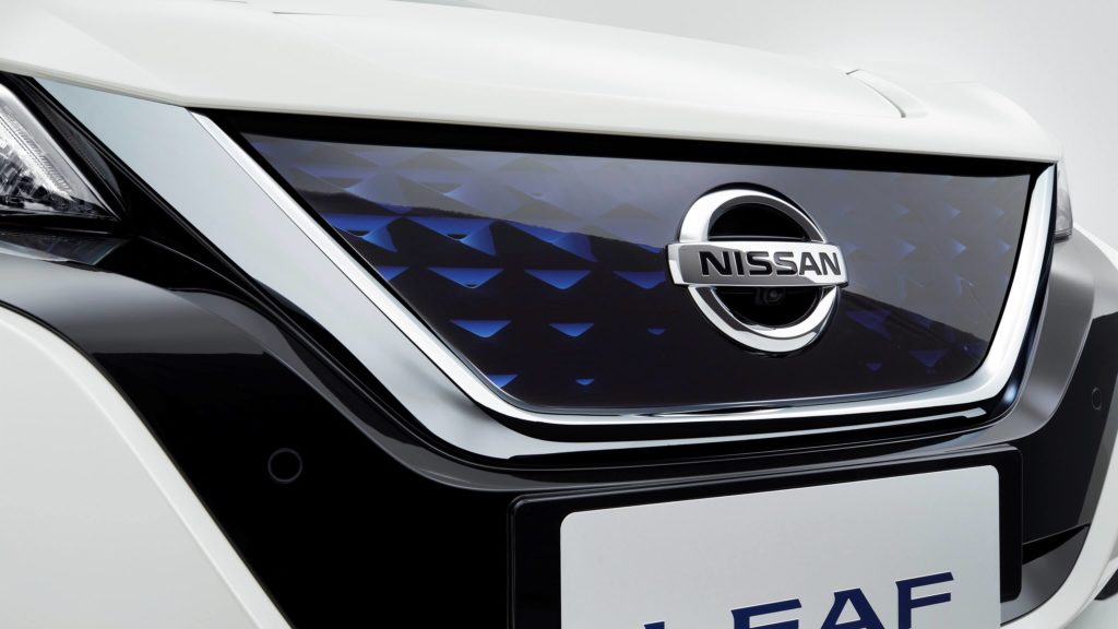 nissan LEAF in Nepal front