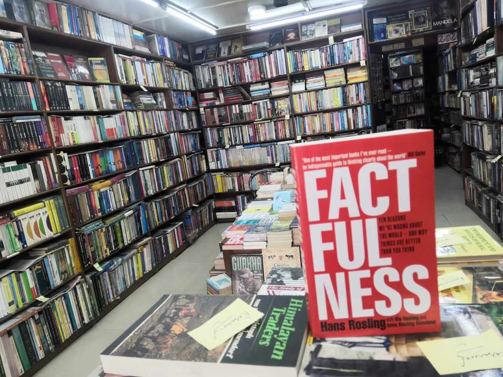 Book Paradise is one of the popular book stores in Kathmandu