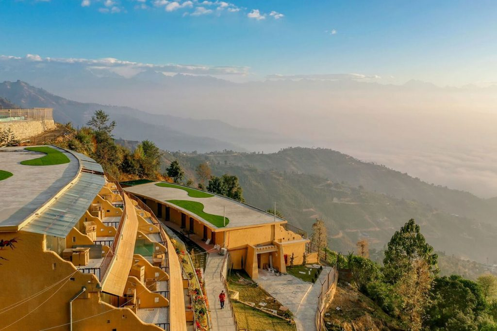 Agantuk Resort in Dhulikhel, one of the best resorts located close to nature