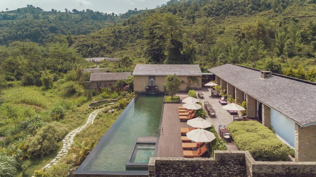 The pavilions is a luxury hotel in Nepal. it is situated in Pokhara